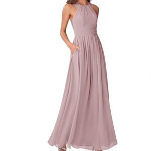 Azazie Mauve Dress